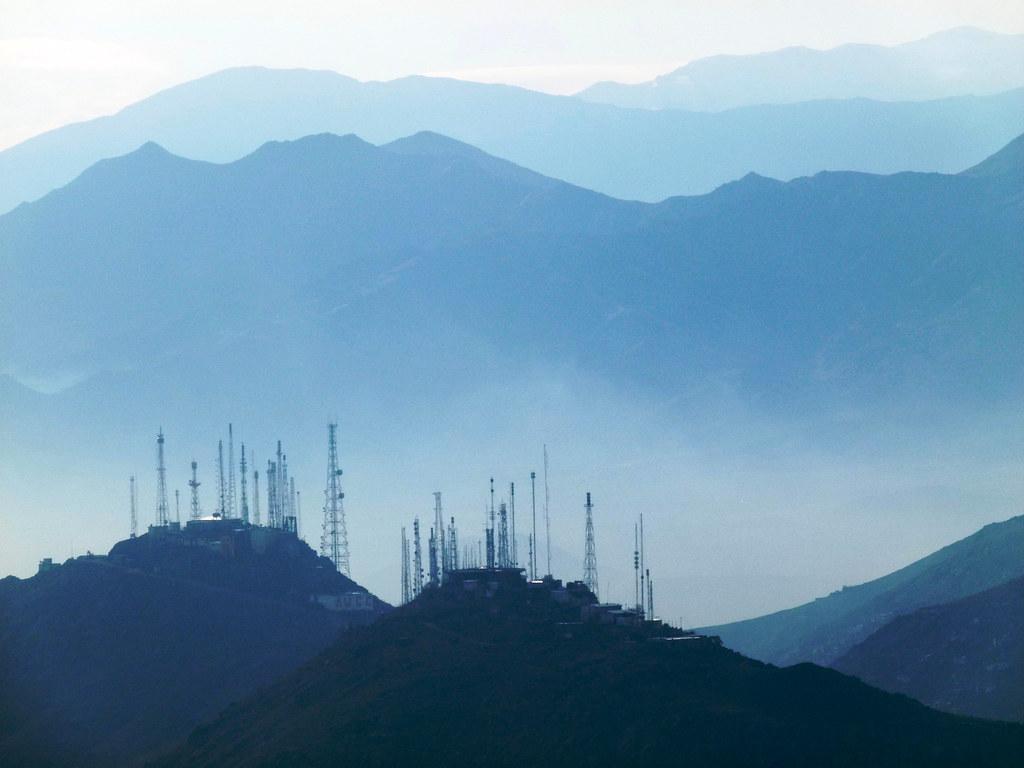 'TV Mountain' on Kabul Outskirts