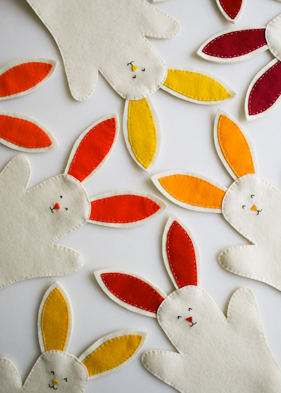 Bunny Hand Puppets | Easter Sewing Projects To Make The Season Festive!