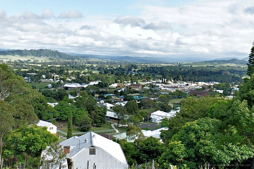 rural landscape australia lookout nsw township overview kyogle northernrivers