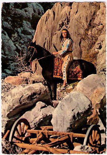 Pierre Brice in Old Shattterhand (1964)