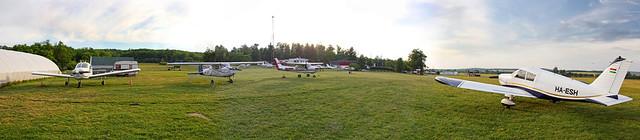 Gödöllő airfield panorama