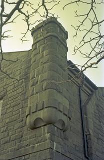 Detalj fra Tollboden på Brattøra (1985)