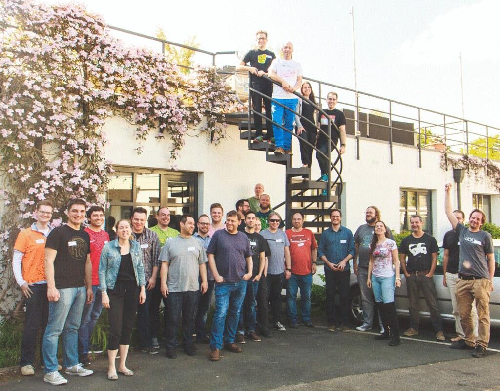 IndieWebCamp Düsseldorf in motion