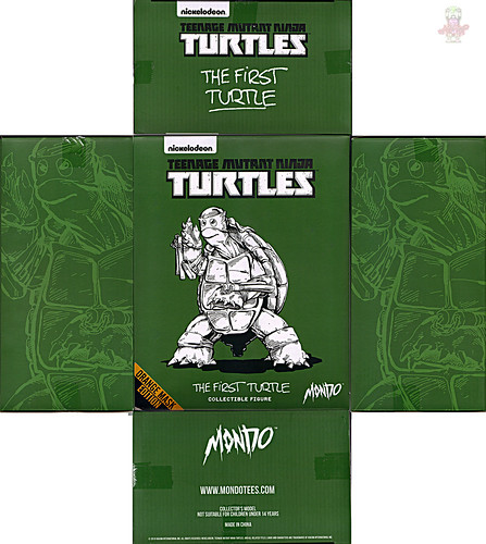 MONDO; Nickelodeon  TEENAGE MUTANT NINJA TURTLES ; THE FIRST TURTLE (ORANGE MASK EDITION) / ..box i  (( 2016 )) by tOkKa