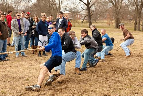 Tennessee Tech E-Week Tug-O-War