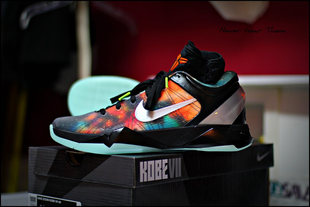 100% authentic 17d3d 54e00 ... Nike Kobe 7 Galaxy All Star Game Shoe   by Never Wear Them