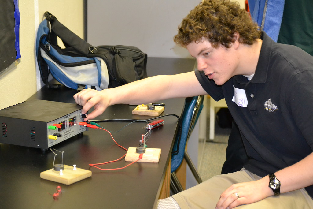 AP Physics Electric Motor Project | Flickr