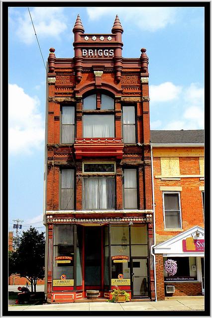 Albion NY ~ Briggs Buildings ~ Historic District
