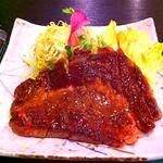 ステーキ! at #利休_(十和田市) http://t.co/lINsqPbJ