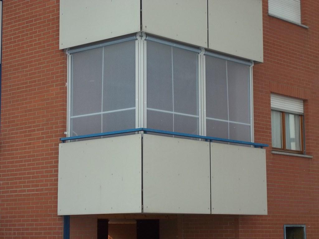 Tende Veranda Per Chiusure Invernali : Chiusura completa balcone con tenda veranda invernale ermetica 4