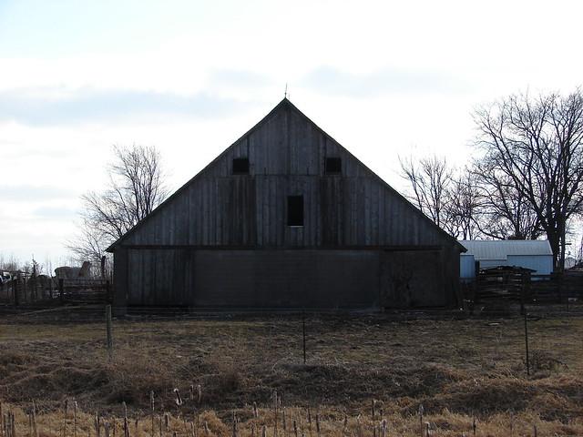 the yawning barn