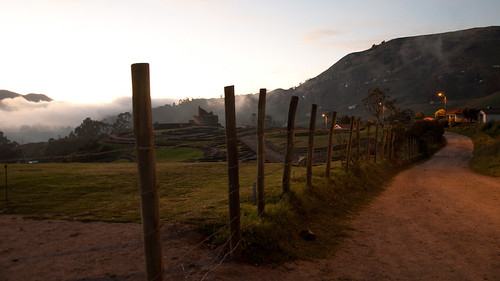 travel light sunset wallpaper fog inca clouds fence landscape countryside ecuador ancient nikon ruins dusk path widescreen hills walkway nikkor 169 archeology ingapirca incanruins incan d90 cañar nikond90 18105mmf3556gedafsvrdx