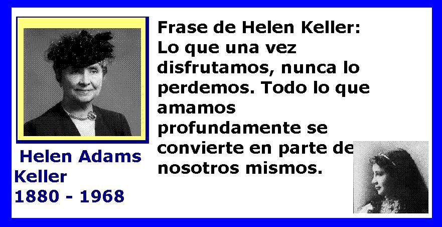 Helen Keller Foto Y Frase Helen Keller últimas Frases Ma