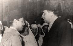 مع الأمير الحسن الثاني  - جدة - 1961