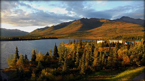 Alaska - Just outside Denali National Park - landscape   by blmiers2
