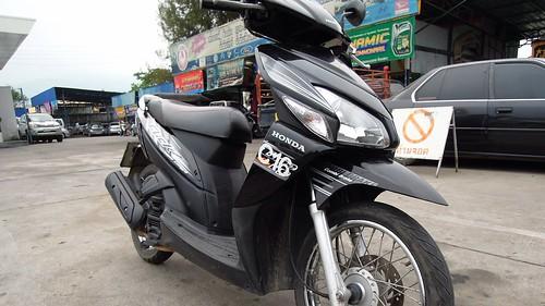 My Honda Click Scooter, Chiang Mai | by David McKelvey