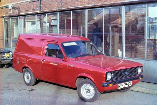 Ford Escort 2246F EYN246V 1982