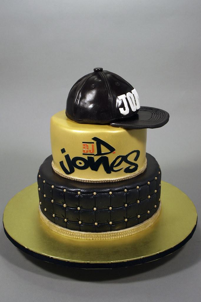 Fabulous Dj Birthday Cake Decorated In Fondant Gum Paste And Edibl Personalised Birthday Cards Cominlily Jamesorg