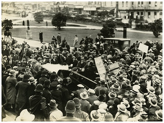 Unemployed Workers' Movement protest at Parliament Grounds, 16 September 1931 [3]