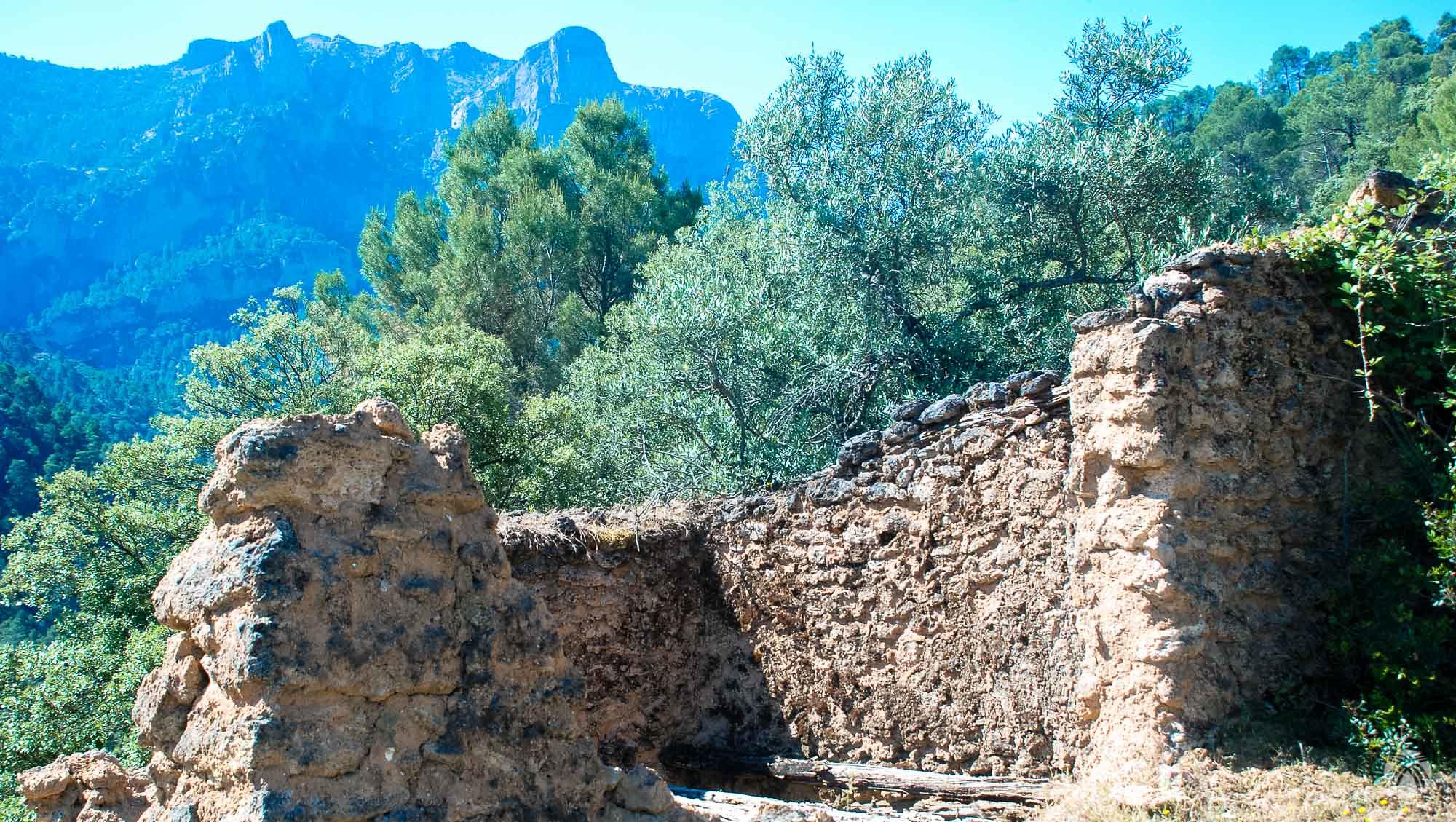 Vistas de la muralla de las Banderillas