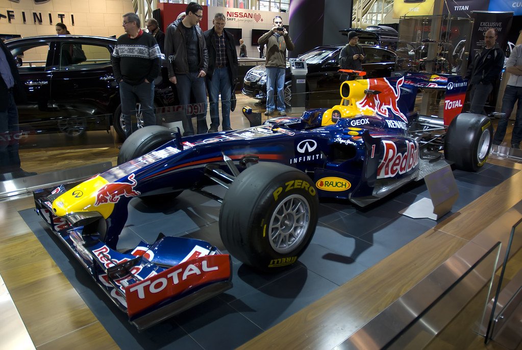 Red Bull F1 Car - CIAS 2012