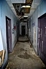 Creepy Office Corridor