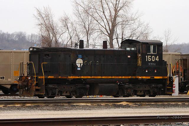 GWWR 1504 - EMD SW1500 at Kansas City, MO