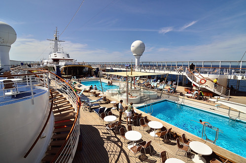 Pool Deck on the Norwegian SKY | by CliffMuller