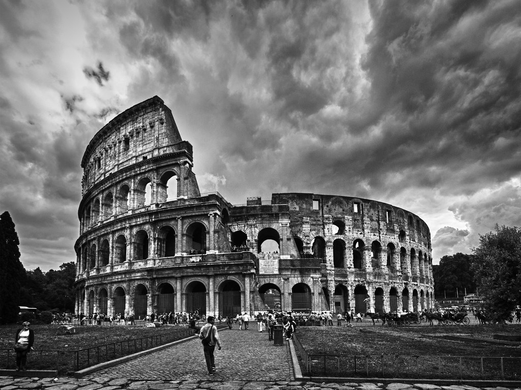 The colosseum rome by kevinpoh