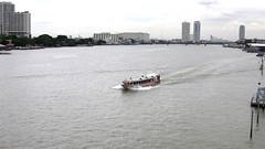 Chao Phraya Express Boat from Rama VIII Bridge, Bangkok