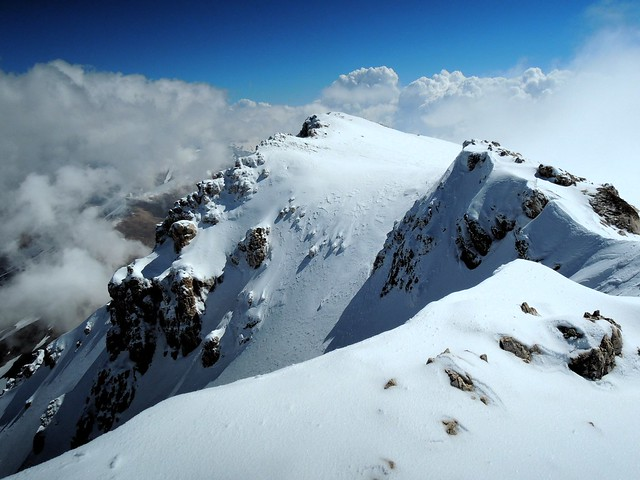 My first view of the summit by bryandkeith on flickr