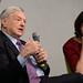 George Soros, Rebecca Harms