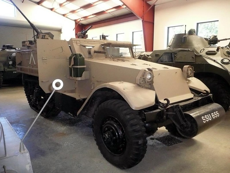 M5 Halftrack Israelenses 1