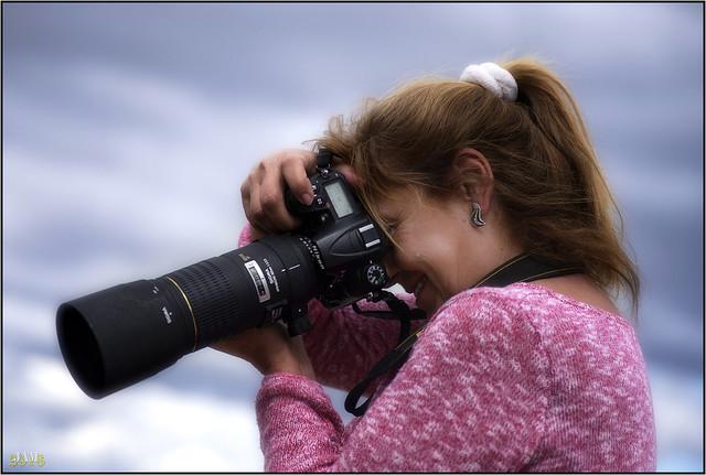 Mi nina fotografa