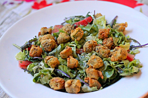 Fried Okra Salad -edit
