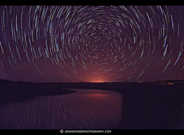 Tidal Pool Star Trails