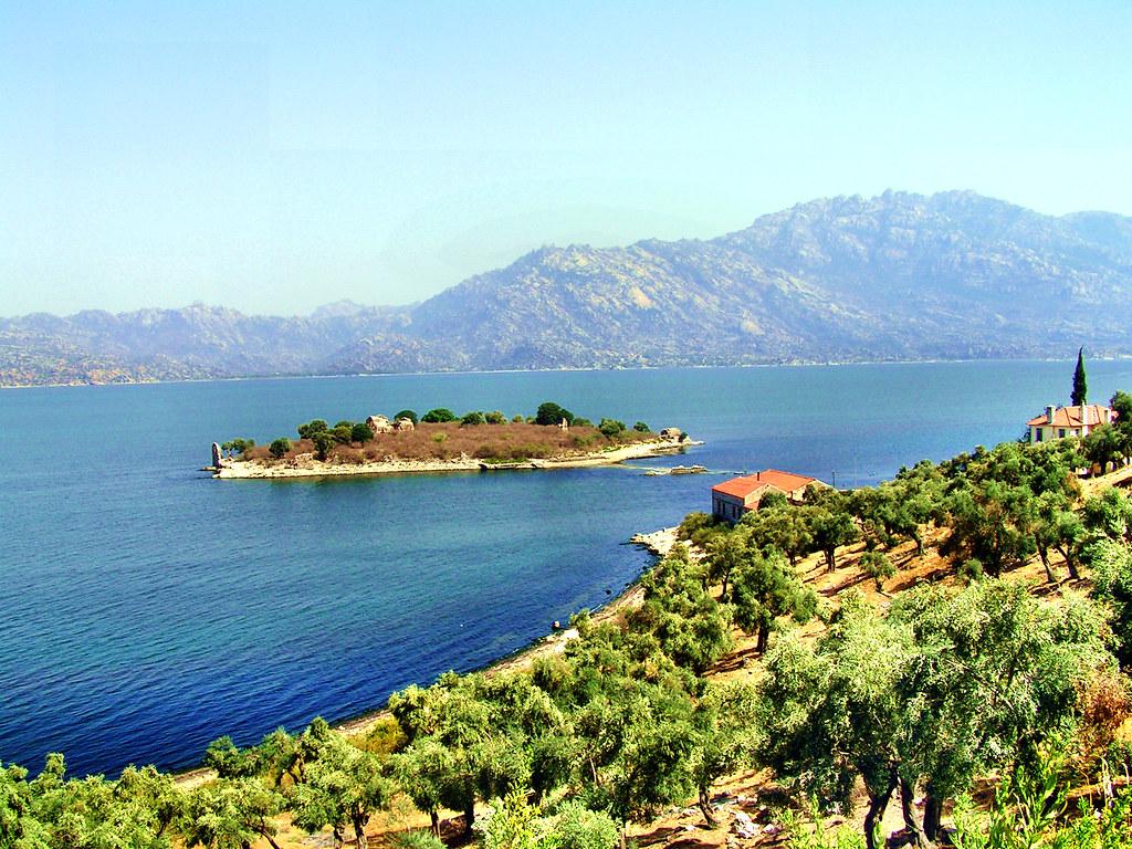 the iconic lake bafa