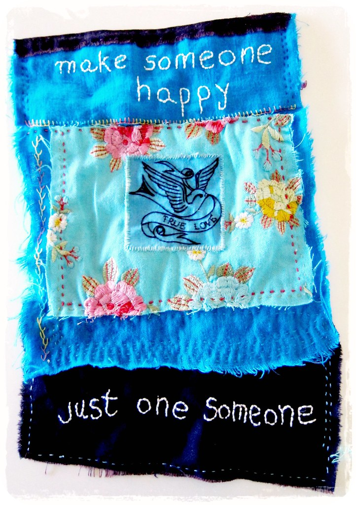 make someone happy, just one someone happy prayer flag | Flickr