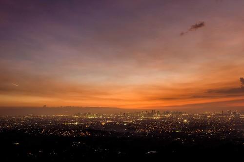 sunset landscape philippines manila antipolo