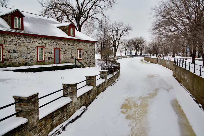Canal Lachine in Winter