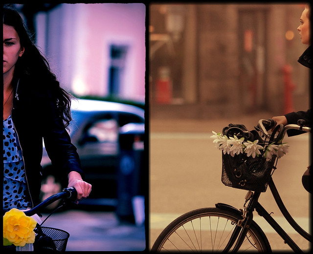 Copenhagen Bikehaven by Mellbin - Bike Cycle Bicycle - 2012 - Ukiyo-e double panel 3
