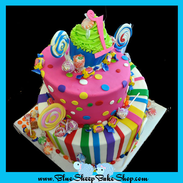 Awe Inspiring Candyland Birthday Cake 3 Copy Blue Sheep Bake Shop Flickr Birthday Cards Printable Opercafe Filternl