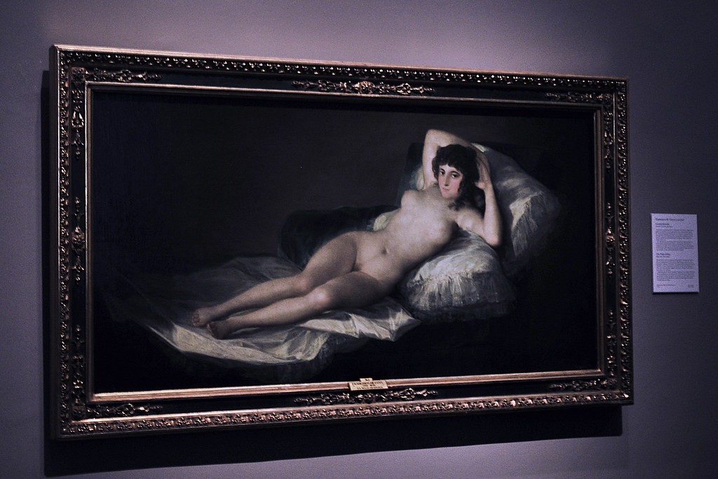 Goyas Naked Maja La Maja Desnuda You Have To Go To Th Flickr