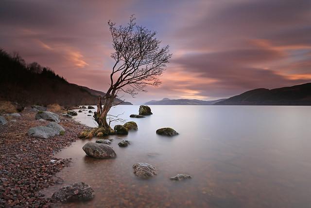 A high Loch Ness.