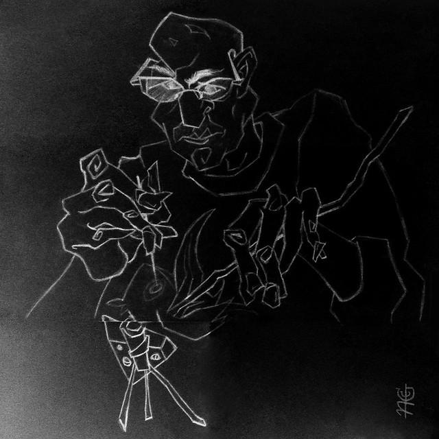 2. Black sketch