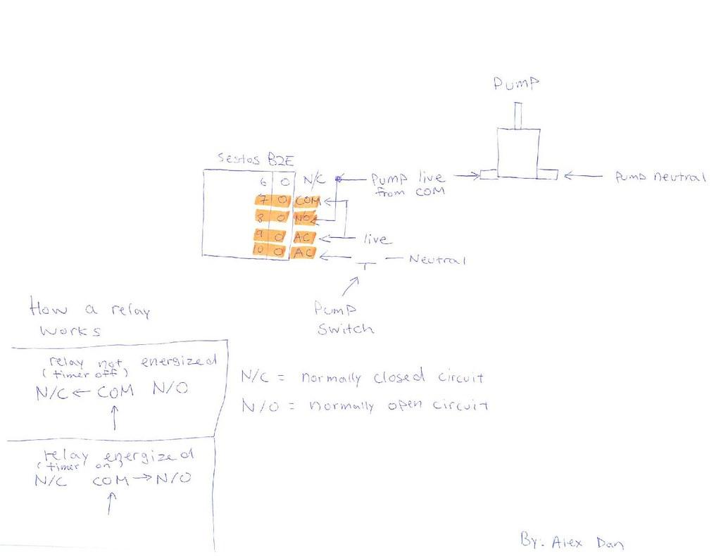 Digital Timer Circuit Diagram | Circuit Diagram of the pump … | Flickr