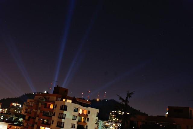 Santiago con luces