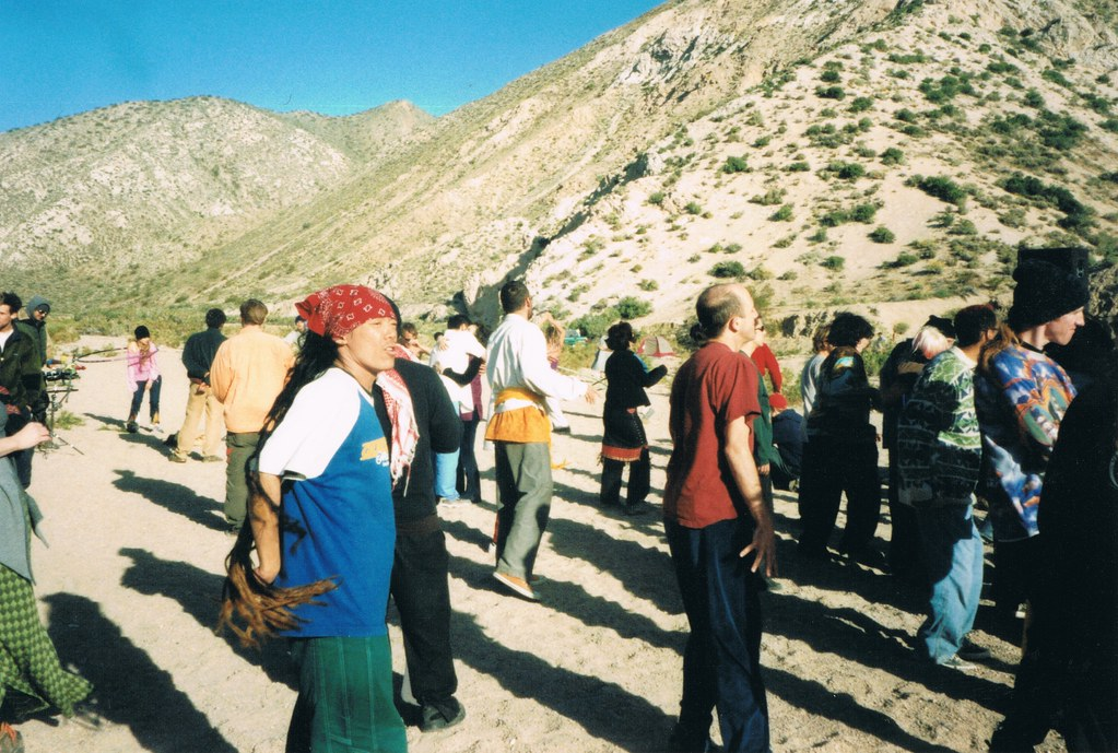 Moontribe-Party - Gathering of the Tribes - 2001 *