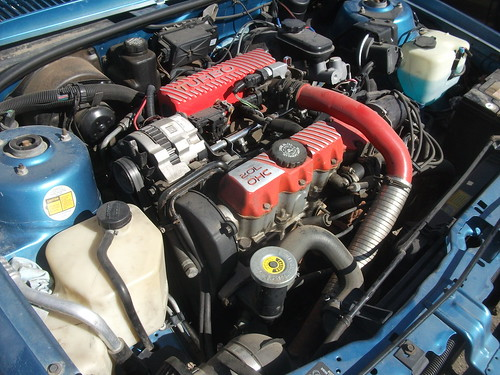 Pontiac Sunbird GT engine | by dave_7