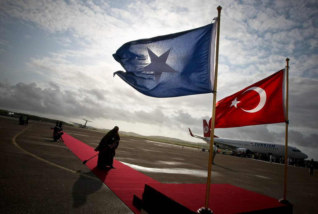 Turkish Prime Minister Makes Official Visit to Somalia